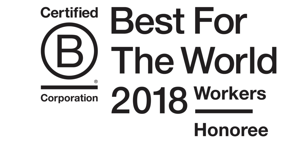 Our cooperative is a 2018 Best for the World Honoree!